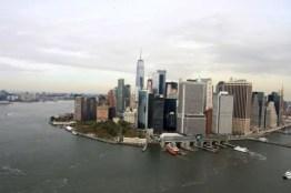 De wolkenkrabbers van Manhattan