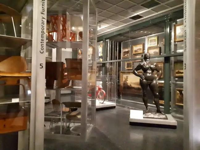Een kijkje in de opslag van het Brooklyn Museum.