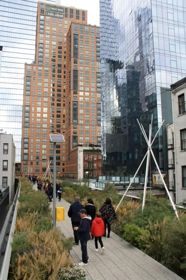 The High Line in Manhattan.