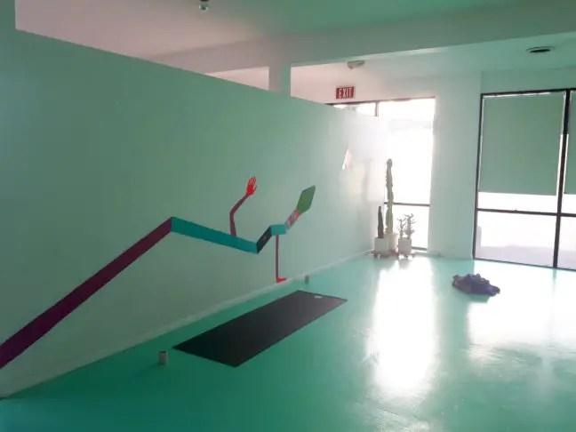 De yogastudio van Love Yoga in Venice.