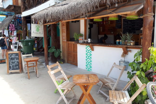 Tierra Mia: voor koffie en smoothies in de ochtend.