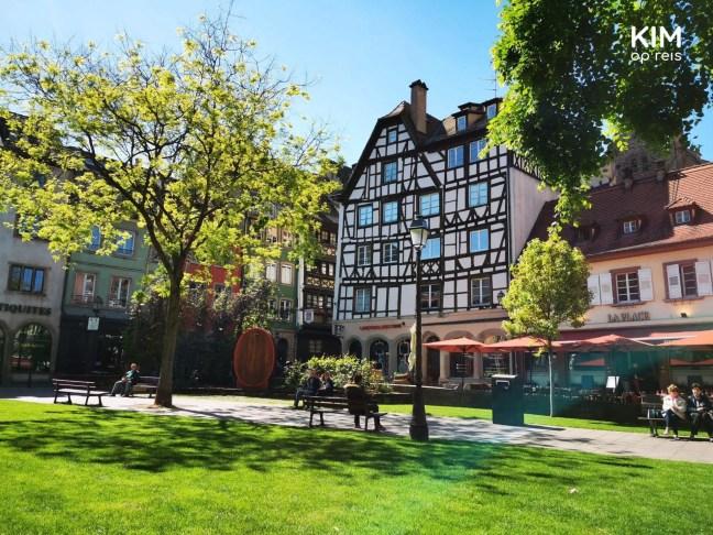 Pleintje in Straatsburg