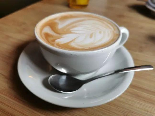 Koffie drinken bij Moraba in Hamburg