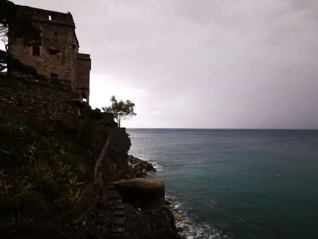 Regenachtig Monterosso al Mare