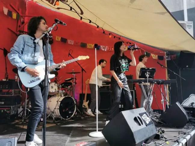 Ronde optreden tijdens Reeperbahn Festival