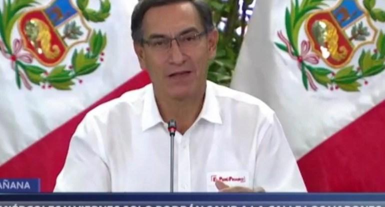 Aankondiging mannendag en vrouwendag Peru