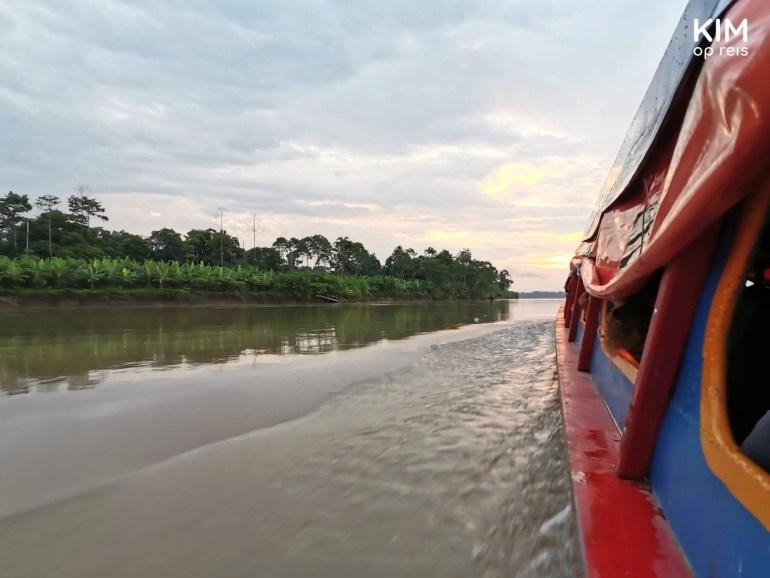 Fast boat Yurimaguas Iquitos