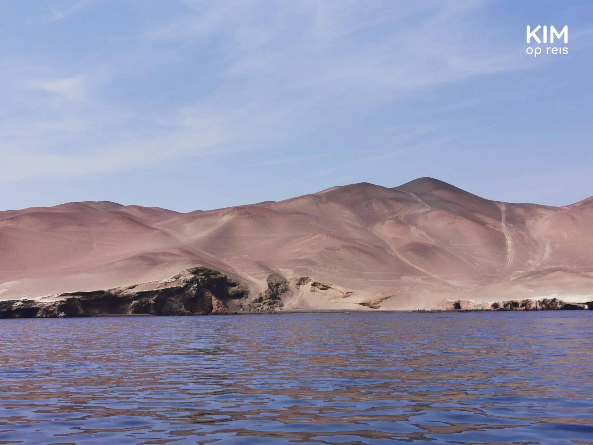 Kustlijn Paracas National Park