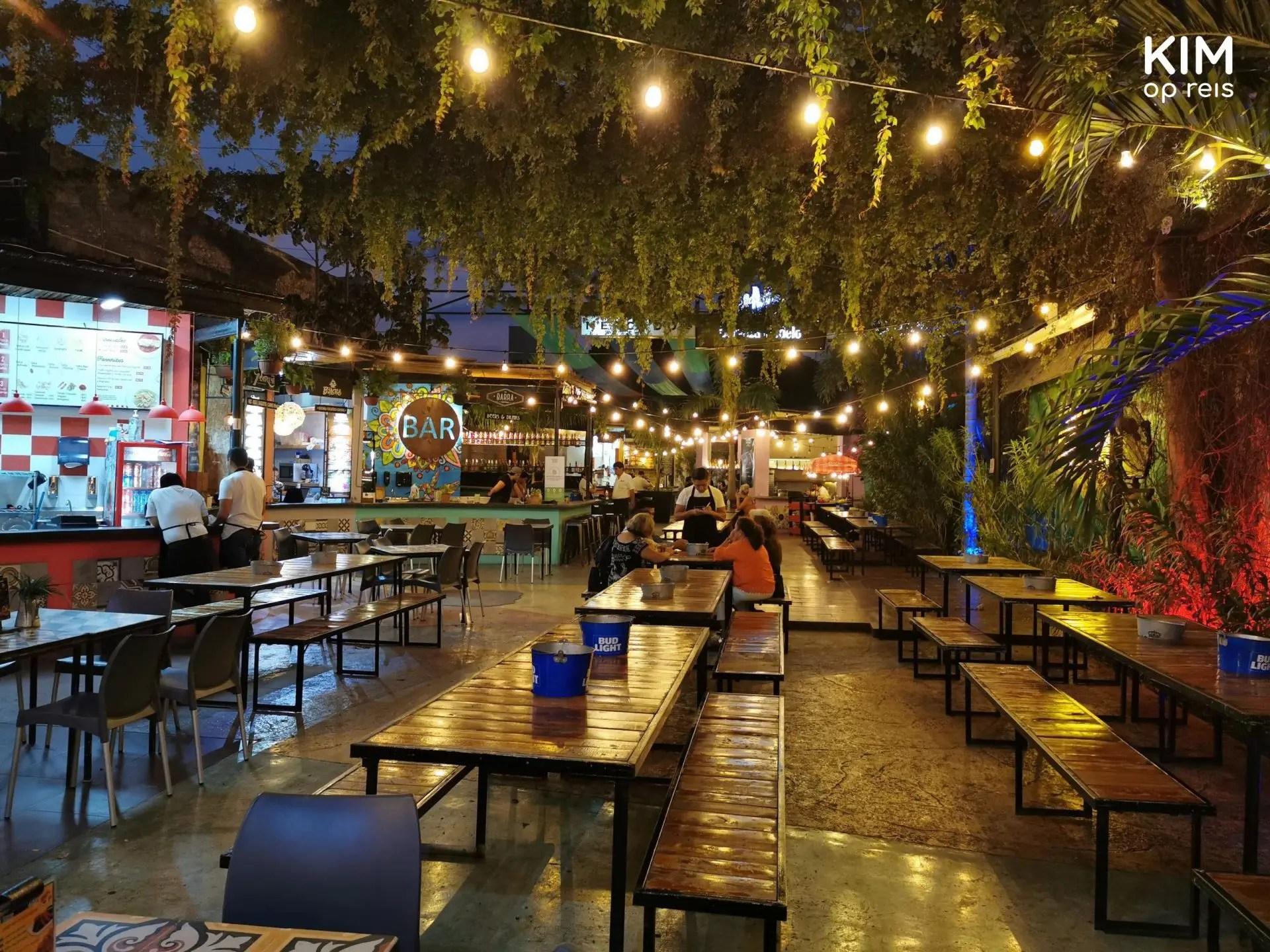 Mercado 60 Mérida: de foodhallen van Mérida voor de drukte