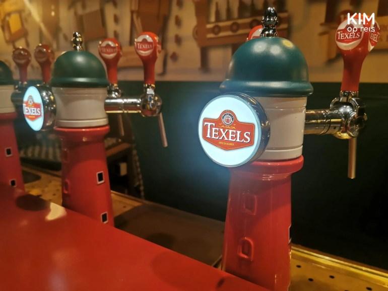 Texels speciaalbier op tap - biertaps in de vorm van een vuurtoren