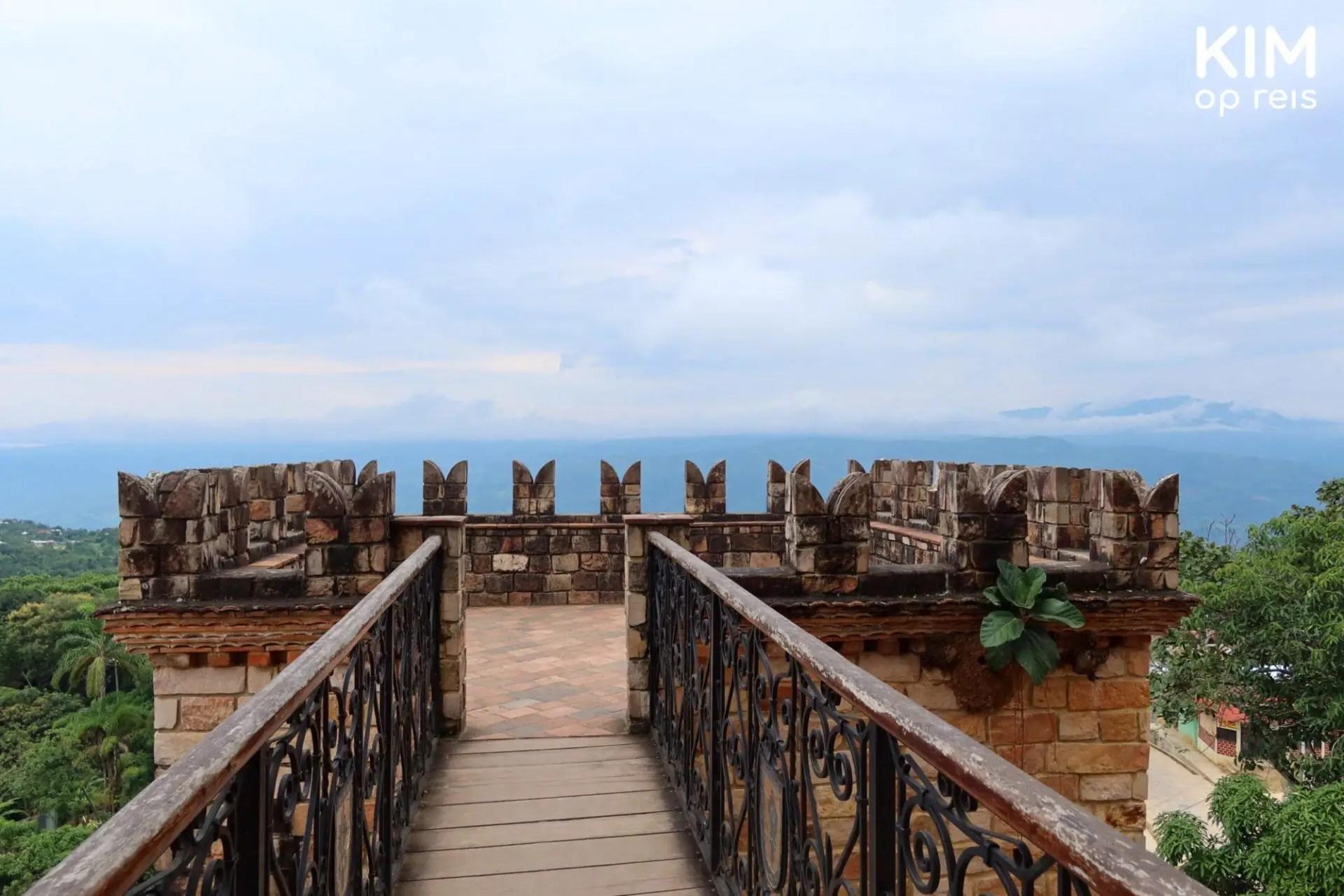 Uitkijkpunt Lamas kasteel