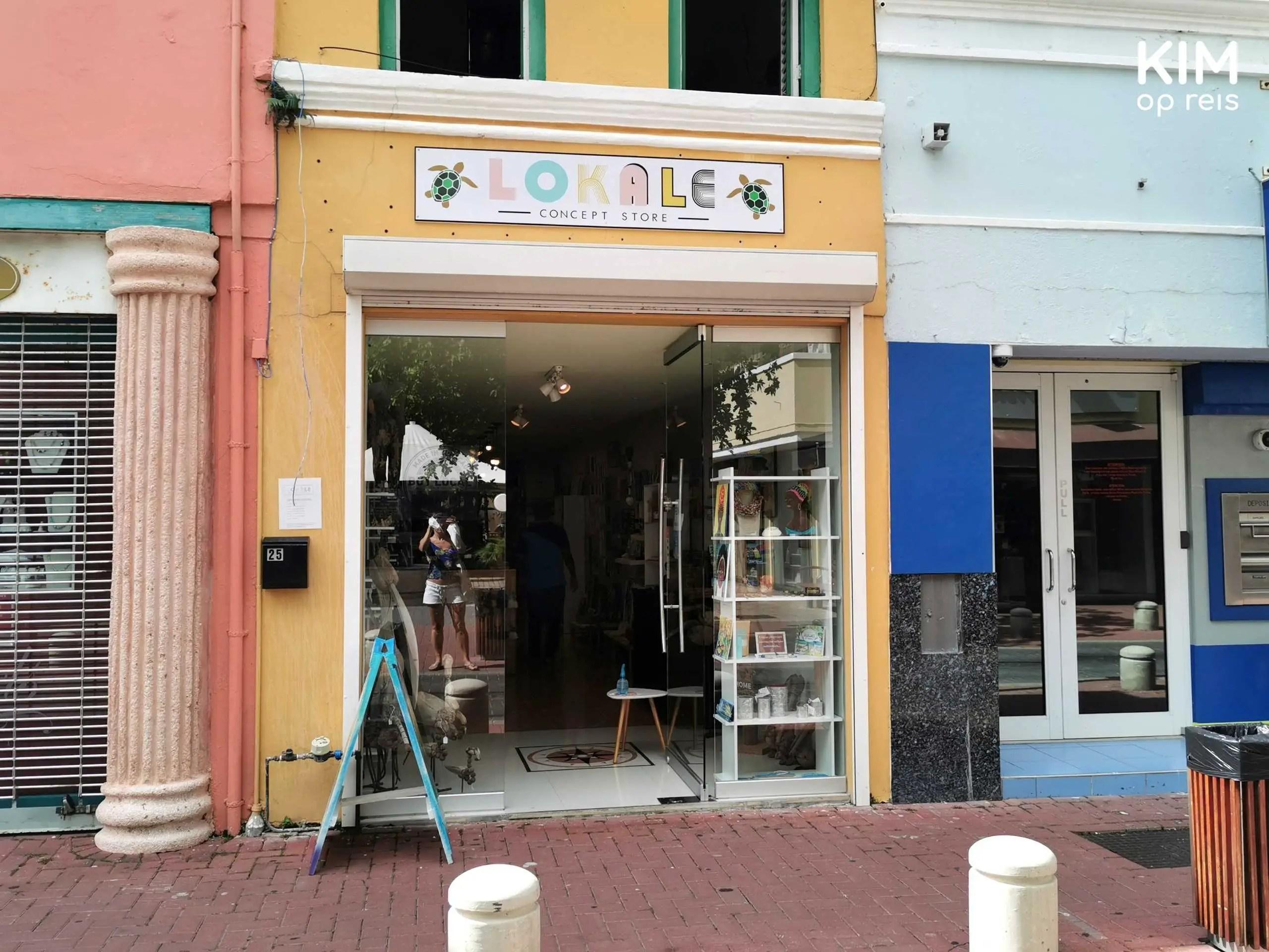 Souvenirs Lokale Concept Store: Ingang winkel