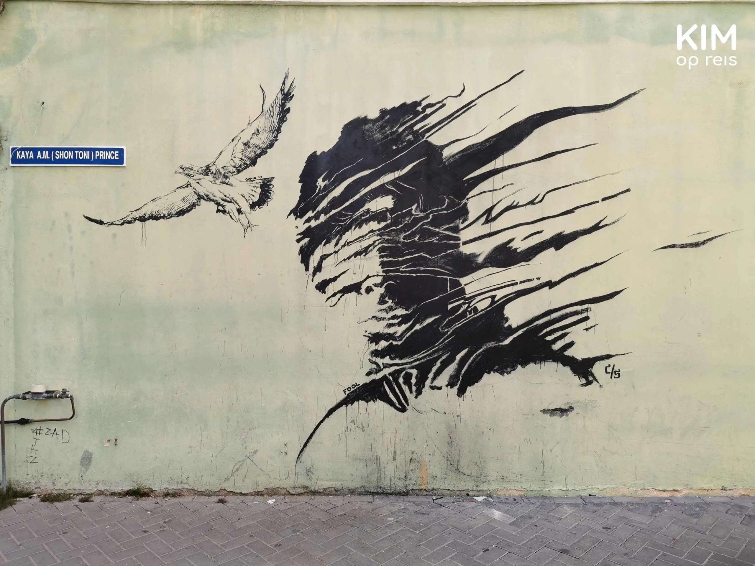 Graffitikunst Willemstad