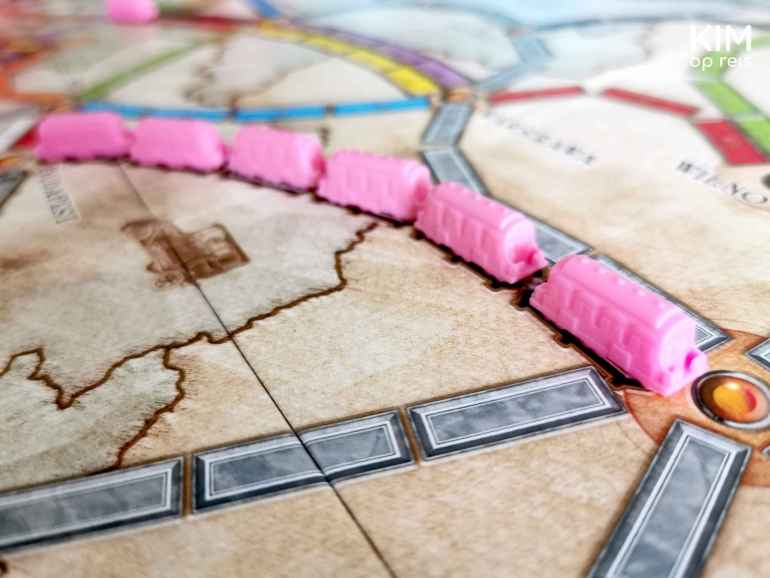 Ticket to Ride Play Pink borstkanker