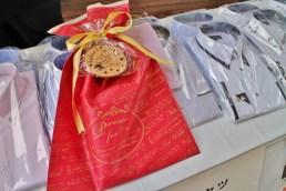 特設バレンタインブースでは、高山CHOYAソーイングさんの高級シャツが♥