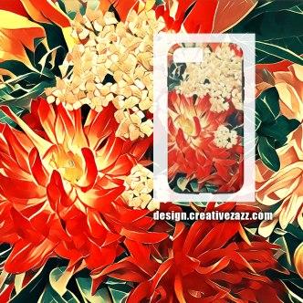 flowerswphoneflat