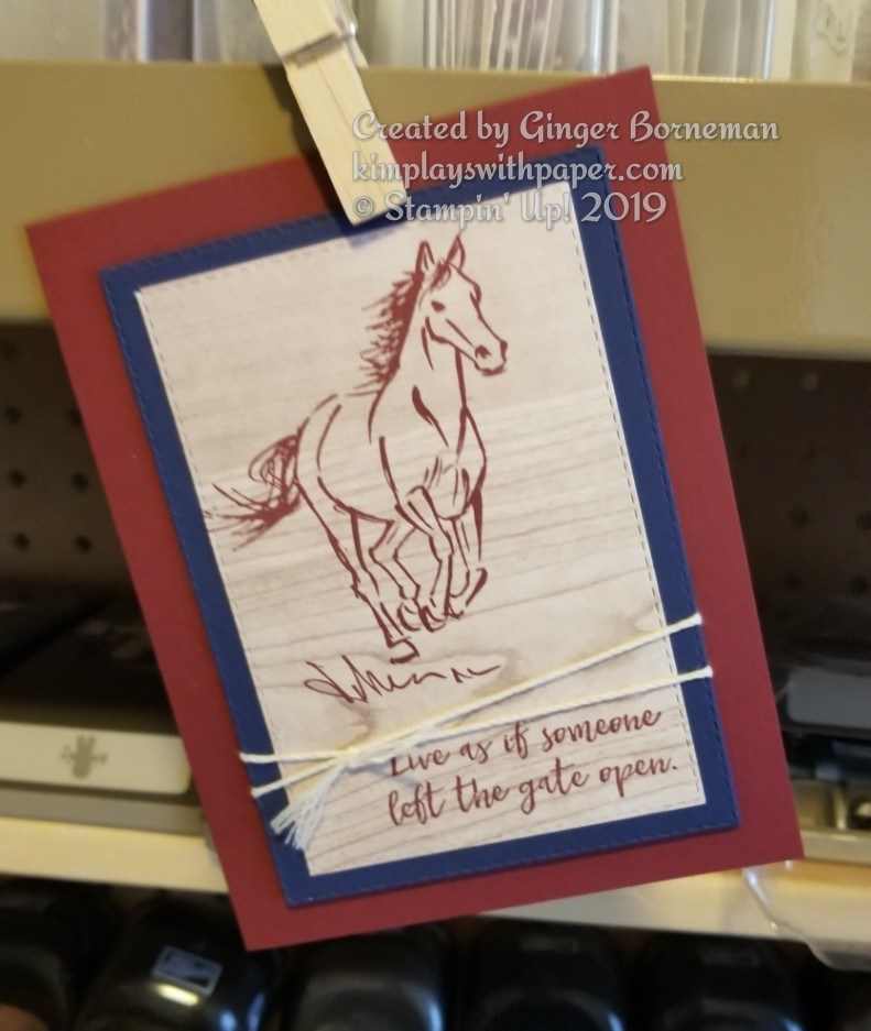 Stampin' Up! Let It Ride