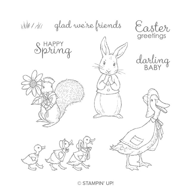 Stampin' Up! Fable Friends