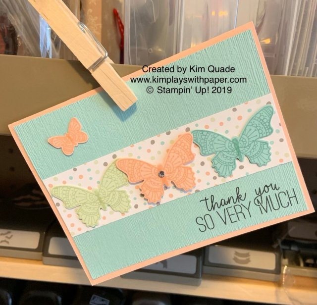 Stampin' Up! Butterfly Gala and Butterfly Duet Punch