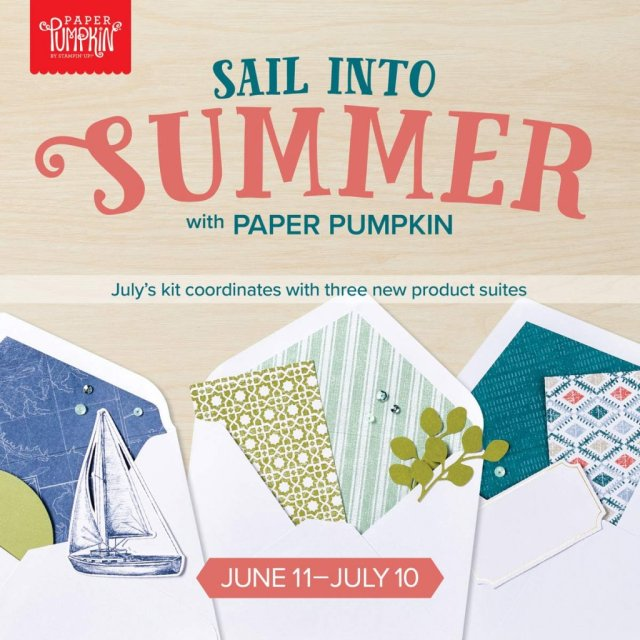 Stampin' Up! July Paper Pumpkin