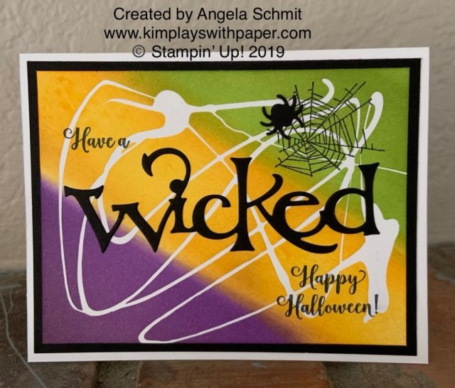 Stampin' Up! Wonderfully Wicked/Wicked Dies