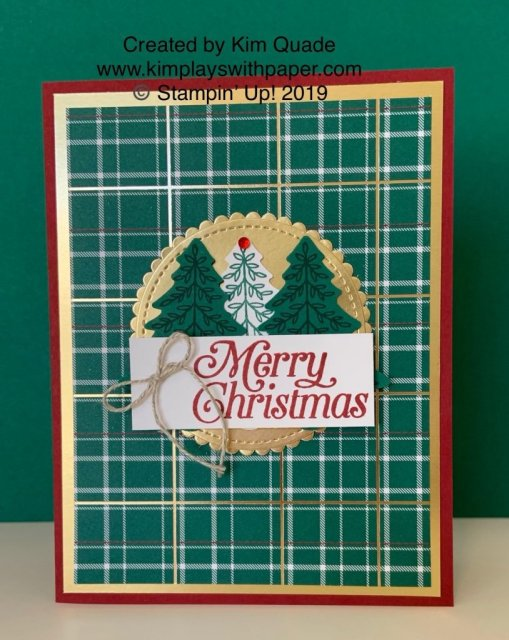 Stampin' Up! Wrapped in Plaid