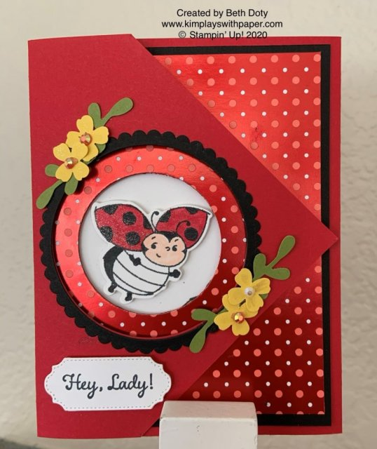 Stampin' Up! Little Ladybug