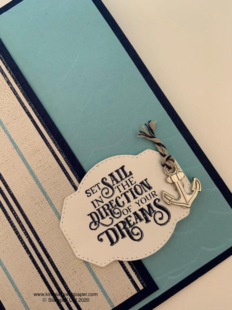 Sailing Home Graduation Card Tutorial