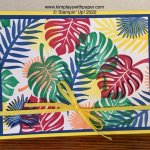 Tropical Chic Card Sample