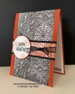 Happy Haunting Free Card Tutorial