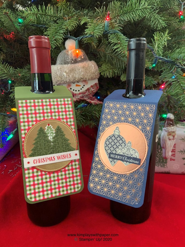 Easy Wine Bottle Tag