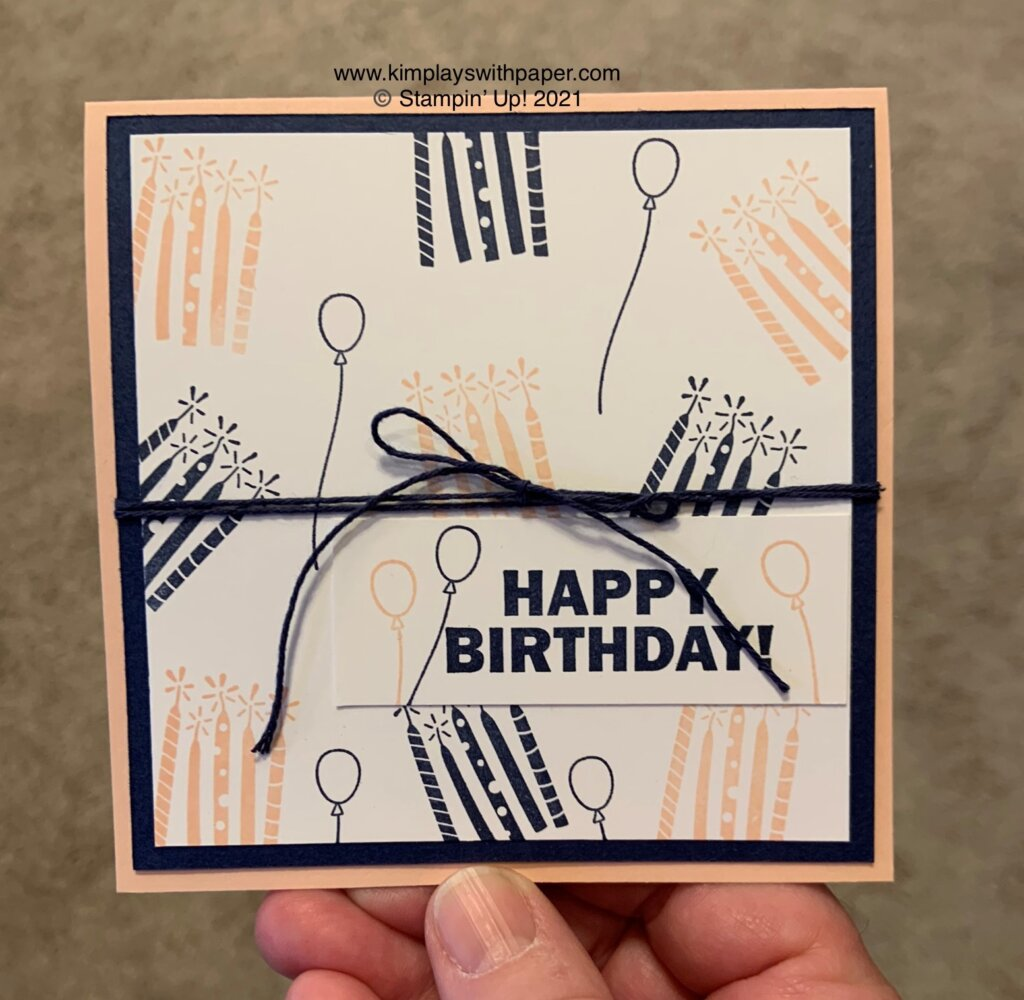 2021 Stampin' Up! Sale-A-Bration