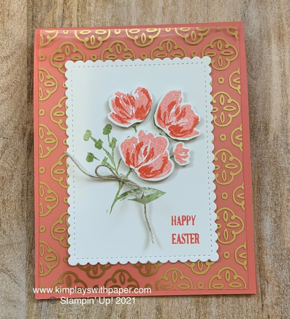 Art Gallery Easter Card