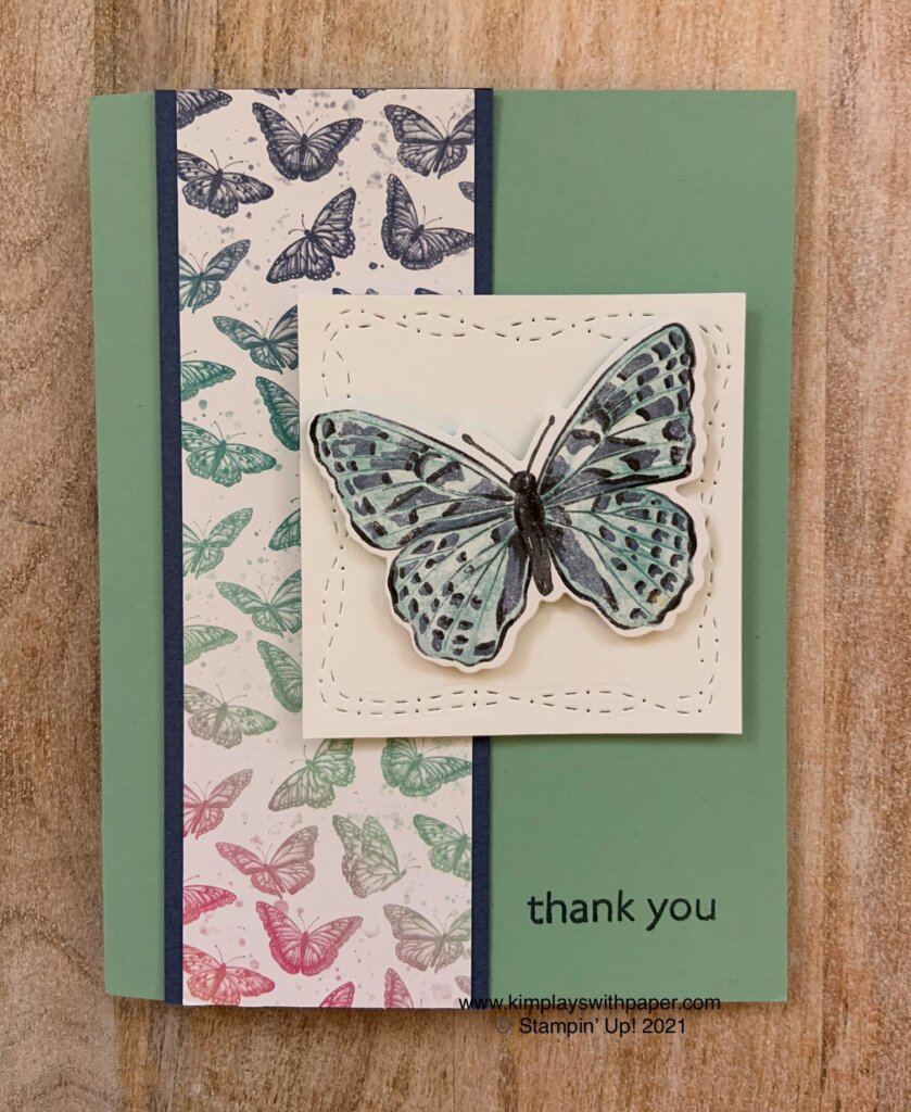 Butterfly Bijour 6 x 6 Designer Series Paper