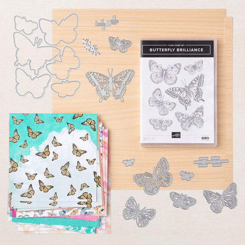 Butterfly Bouquet Card Samples