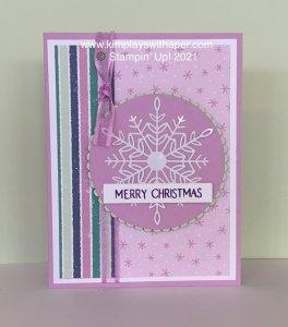 Penguin Playmates Christmas Card Tutorial