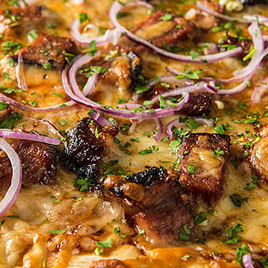 Recipe: BBQ BRISKET PIZZA