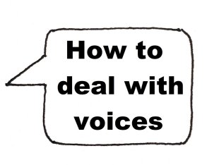Dealing with voices