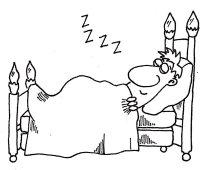 At last, sleep
