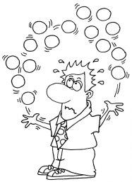 Juggling problem