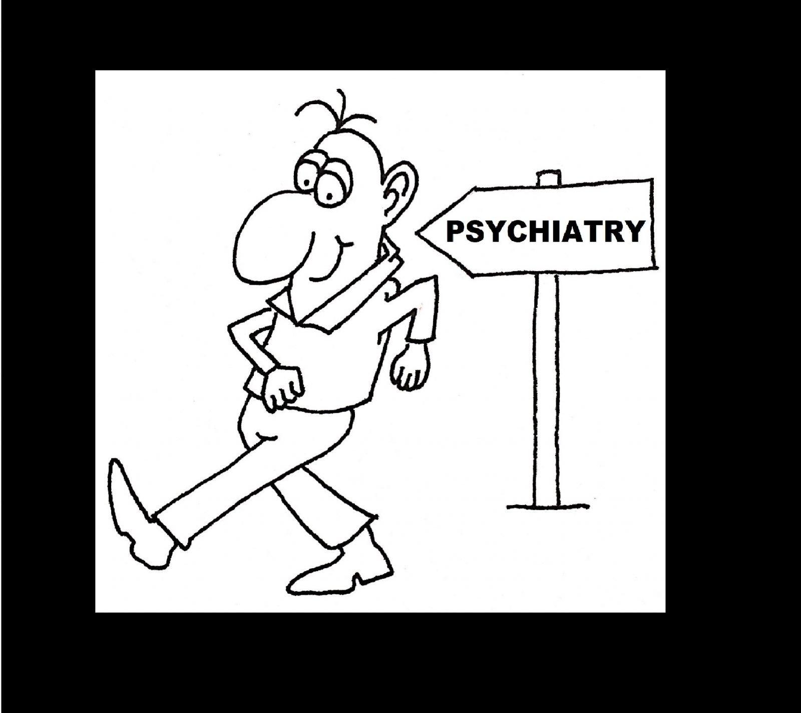 Psychiatry With Black Border