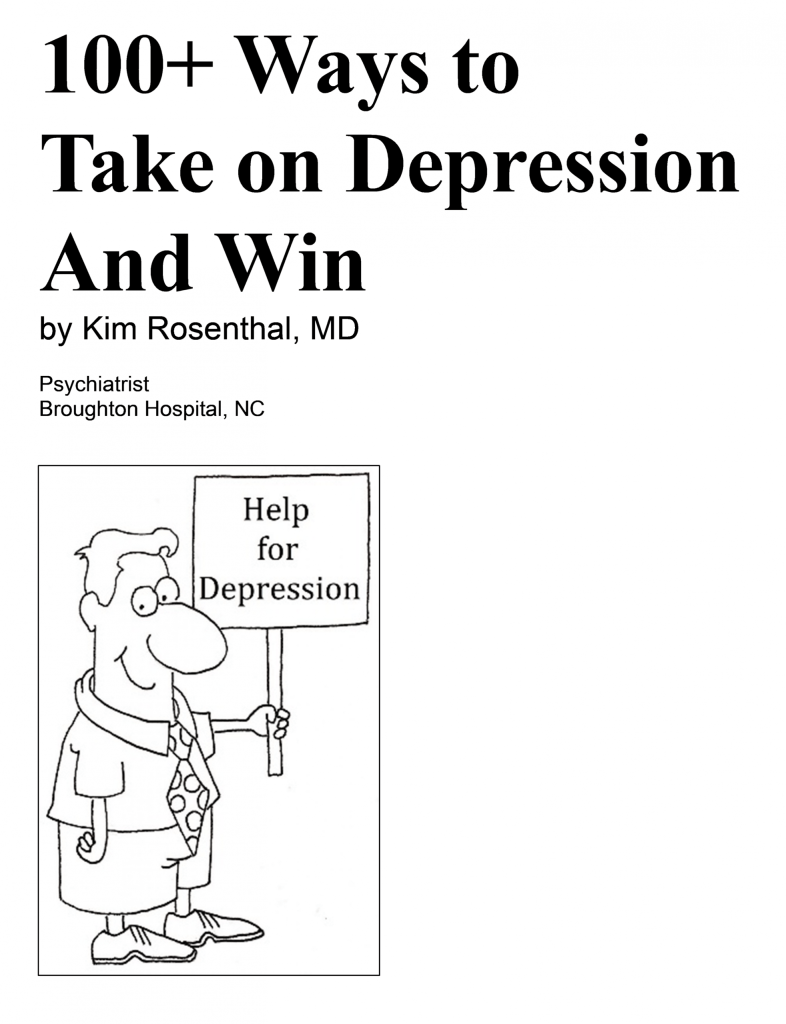 take on depression and win