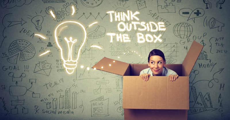 think outside the box pic