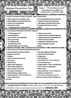 page 2 relapse prevention plan