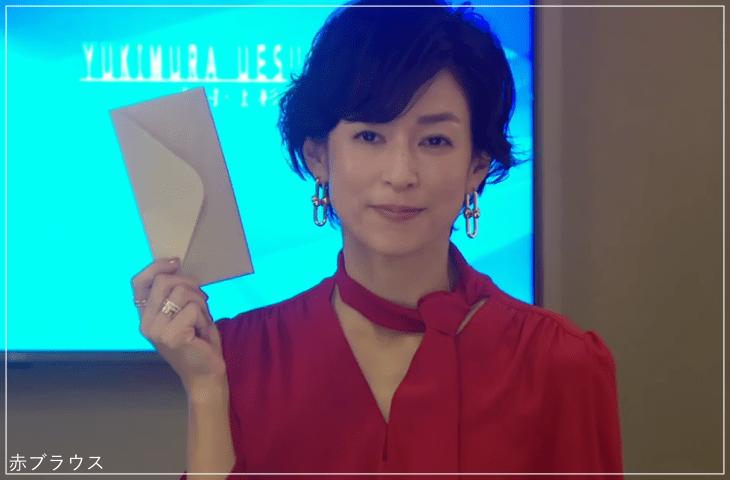 SUITS/スーツ[5話] 鈴木保奈美の服のブランド!ブラウスやネックレスも!a1