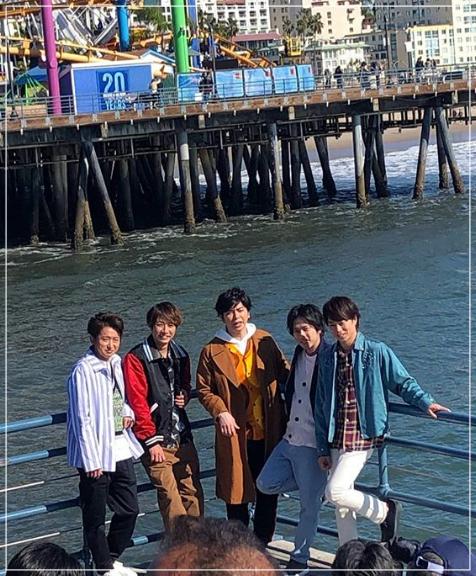 嵐がグラミー賞!ロサンゼルスの5人の目撃画像!タキシード姿は!?arashi2-1
