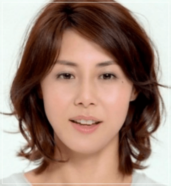 松嶋菜々子のかわいい髪型!くせ毛パーマやショートに前髪!眉毛は?