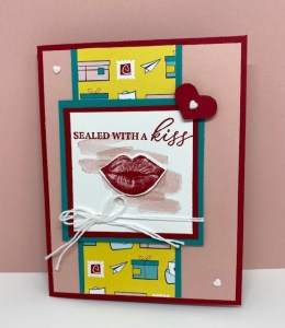 Day Three of our Seven Days of Valentines Cards