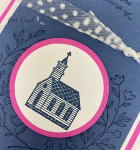 Using the Gift of Hope Stampset to make an easy Easter Card