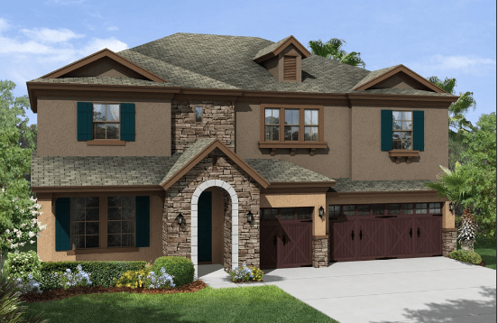 Union Park New Homes In Wesley Chapel Florida